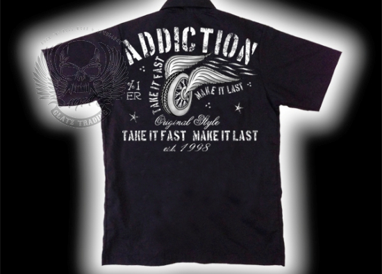 ORIGINAL ADDICTION BRAND WORKERSHIRT