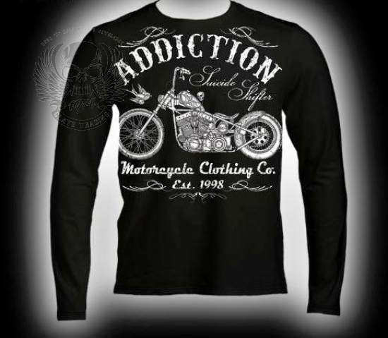 ORIGINAL ADDICTION BRAND LONGSLEEVE
