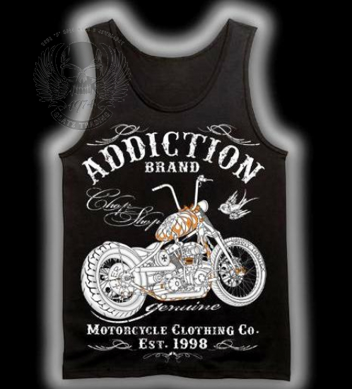 ORIGINAL ADDICTION BRAND TANK TOP